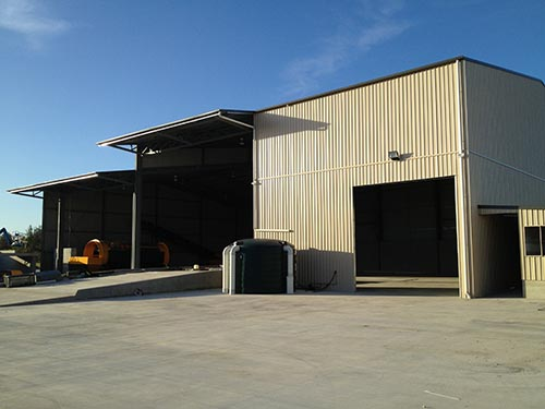 industrial shed builder Sunshine coast