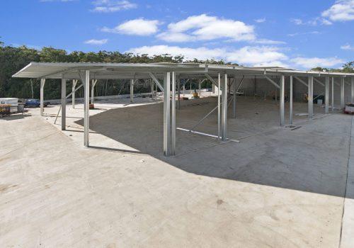 Sunshine Coast Industrial Shed - Superior Garages