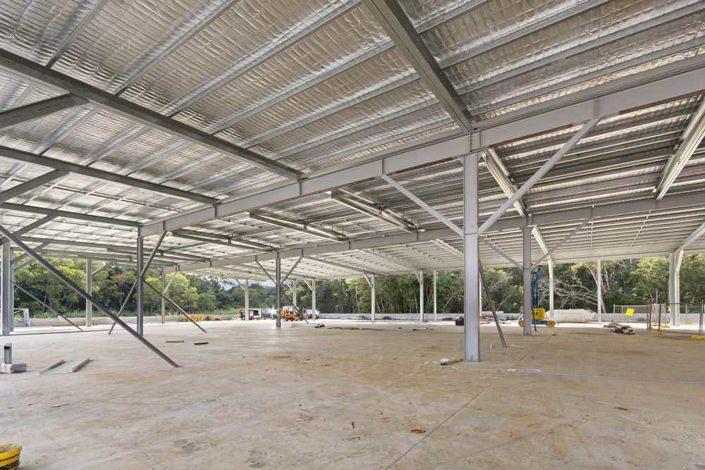 Sunshine Coast Industrial Shed Construction - Superior Garages