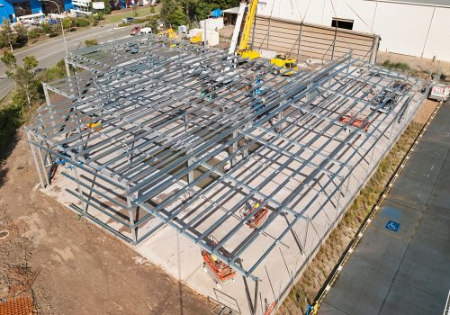 Steel framed garages sunshine coast
