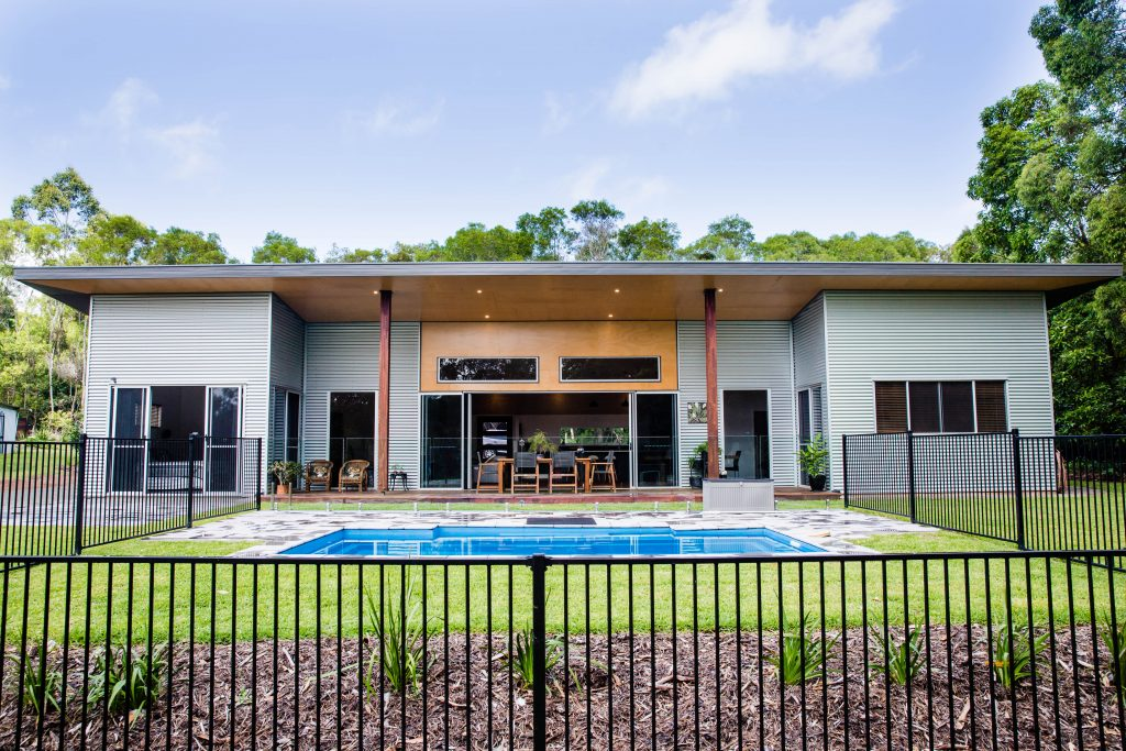 Shed Homes Sunshine Coast - large shed home by SGI