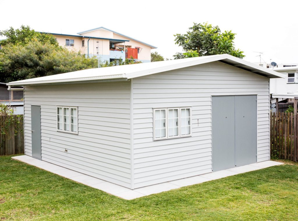 Sheds Sunshine Coast - Superior Garages and Industrials built steel shed